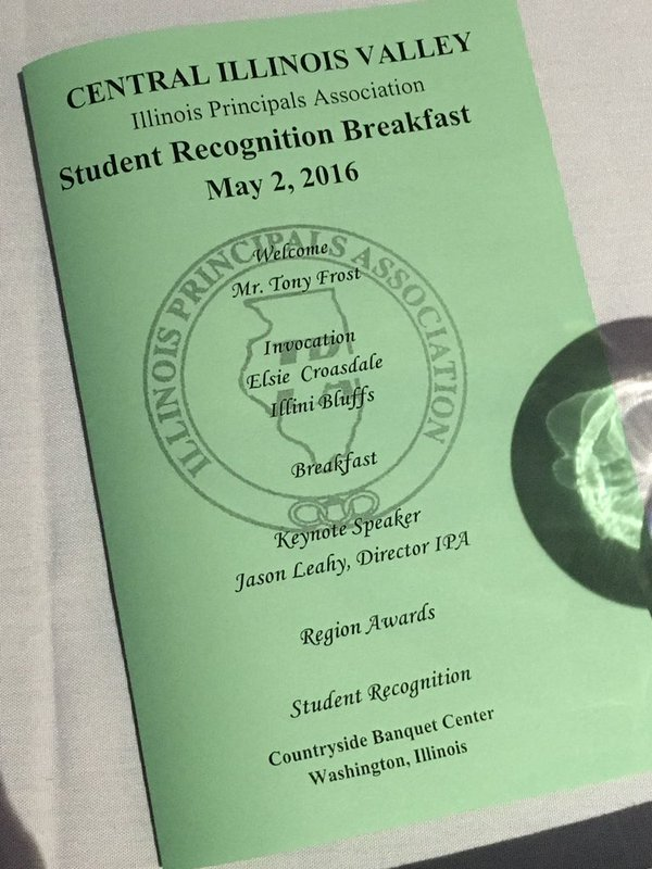 Student Recognition Breakfast Means More Than Just Eggs And Awards